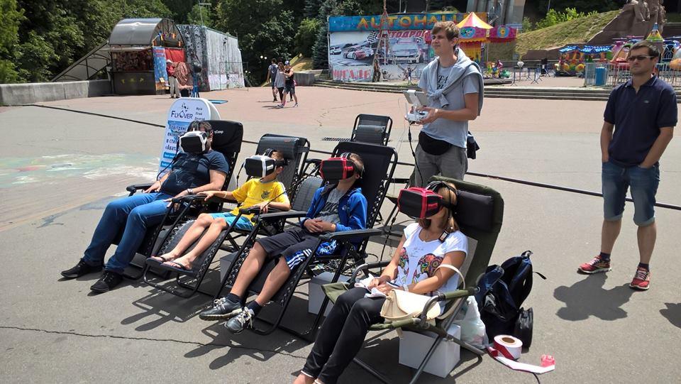 В Україні запустити сервіс повітряних прогулянок на квадроптерах