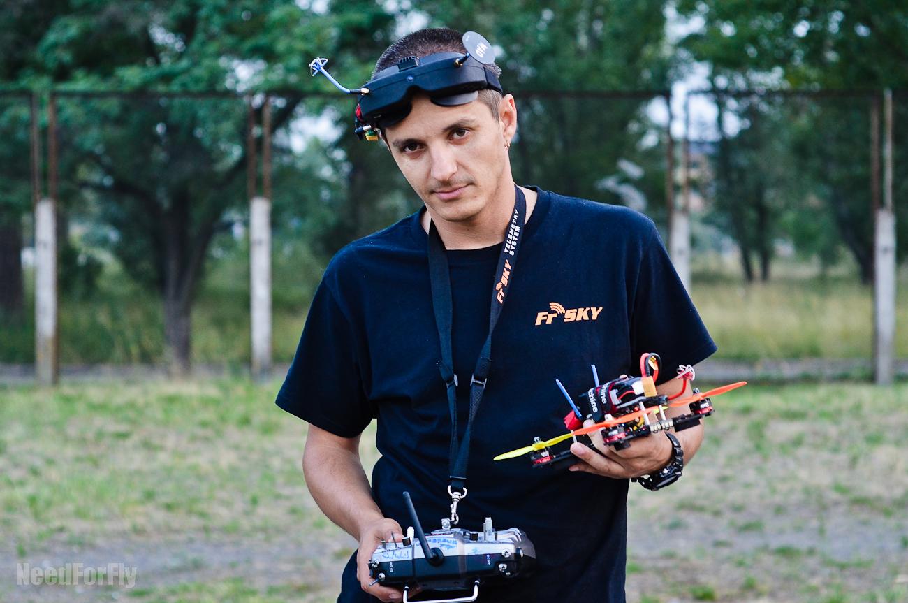 Віктор Дзензель, чемпіон України з дрон-рейсингу